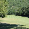 A view of a fairway at Ticonderoga Country Club