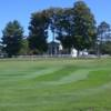 A view of a green at Turin Highlands Golf Course