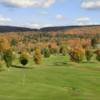 A fall day view from Stonegate Golf Course