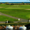 A view of a green at Timber Point Country Club