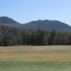 A view of the driving range at Saranac Lake Golf Club