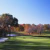 A view of hole #17 at Split Rock from Pelham/Split Rock Golf Course