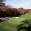 A view of the 8th green at Pelham Bay from Pelham/Split Rock Golf Course