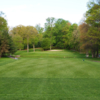 A view from a tee at Blue Hill Golf Course