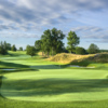 A view of a green at West from Westchester Country Club