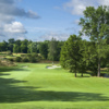 A view from a fairway at West from Westchester Country Club