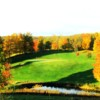 A view of the 5th hole at Milestone Golf Club.